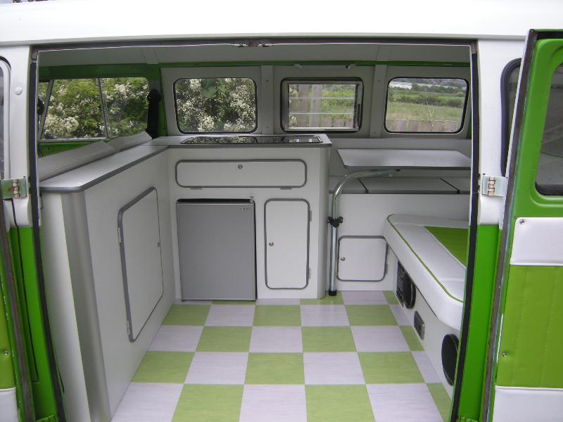 Vw split screen interiors vw camper interiors for Vw camper van interior designs