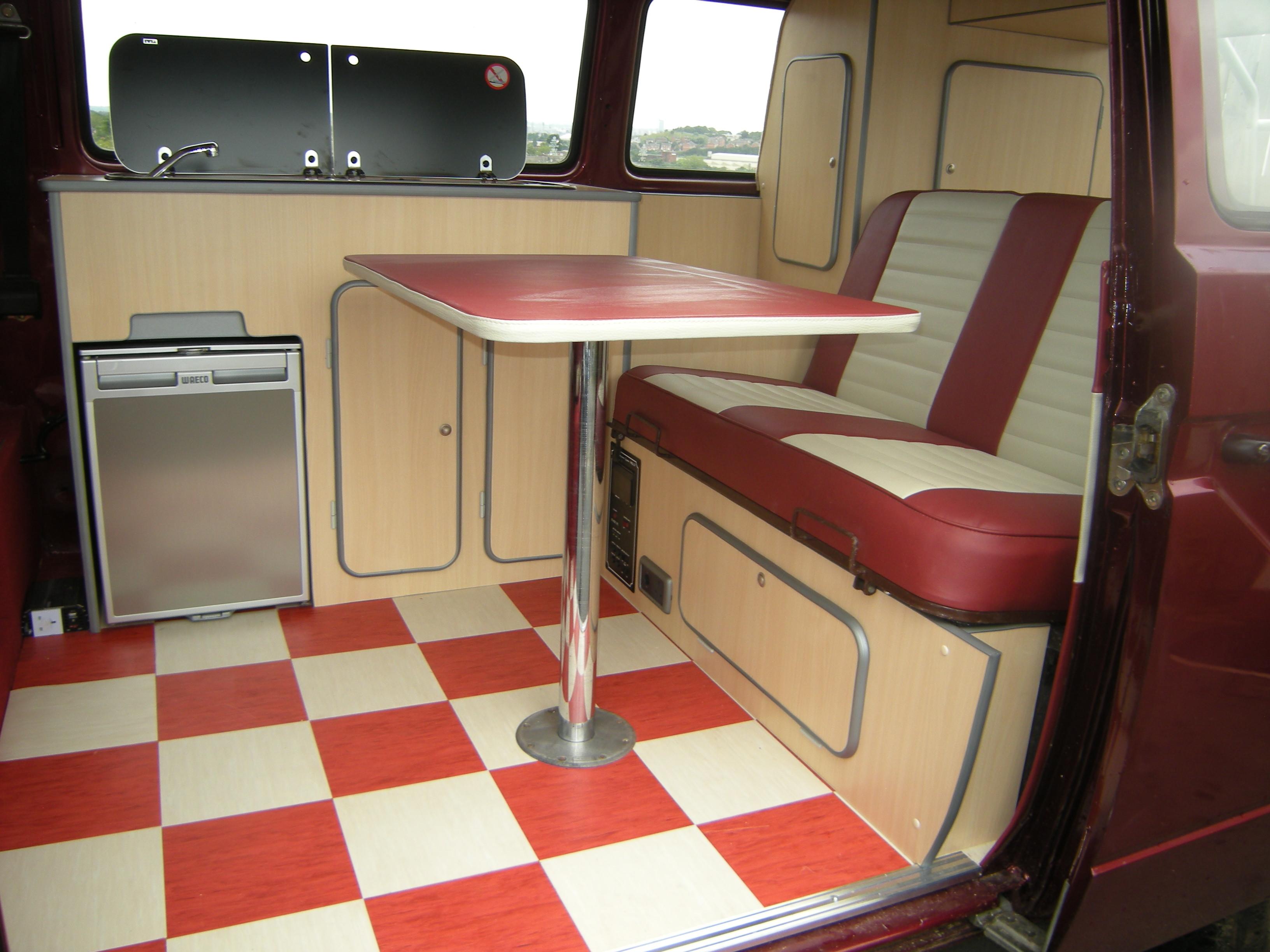 Vw camper interiors leeds yorkshire vw camper for Vw camper van interior designs