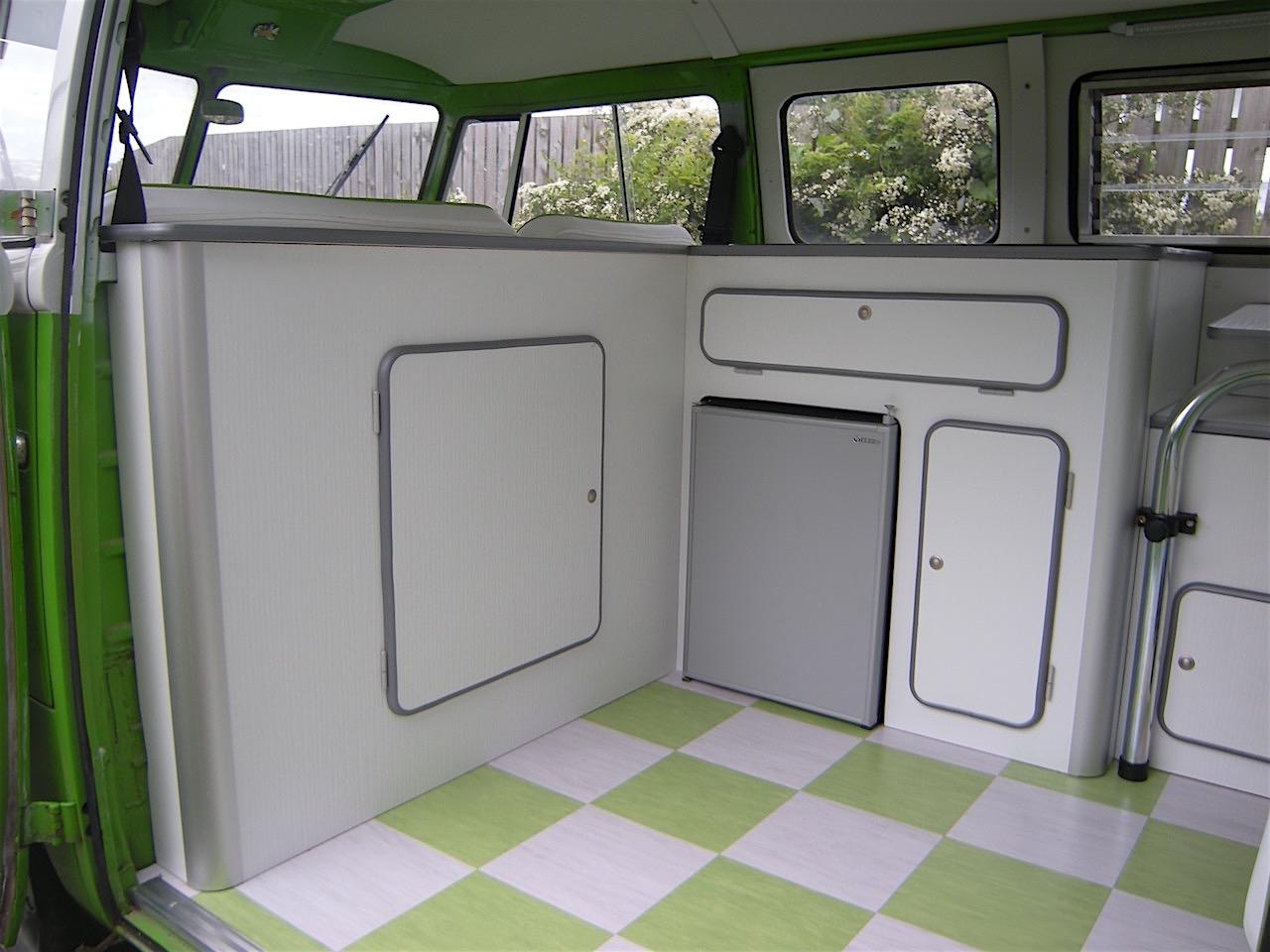 split screen interior vw camper interiors. Black Bedroom Furniture Sets. Home Design Ideas