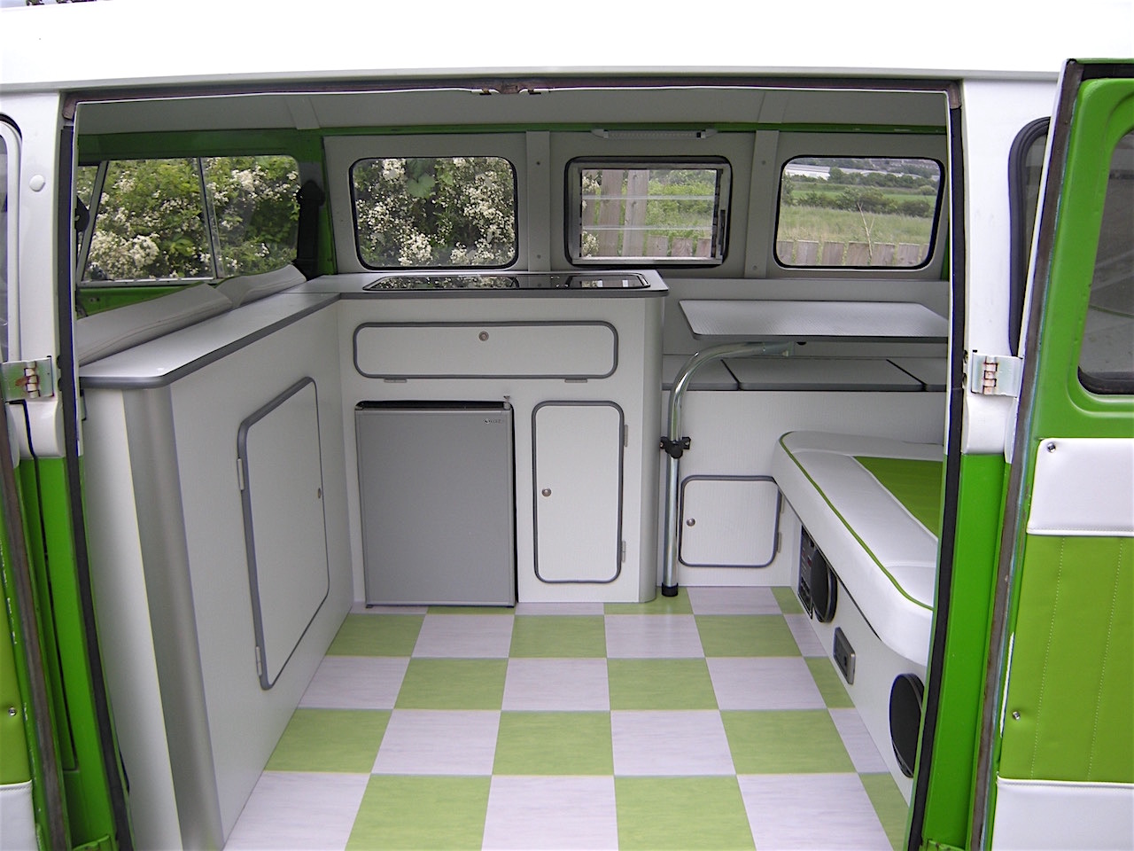 Vw Camper Interiors Camper Conversion Split Screen T2 T25 T4 T5 Leeds Yorkshire
