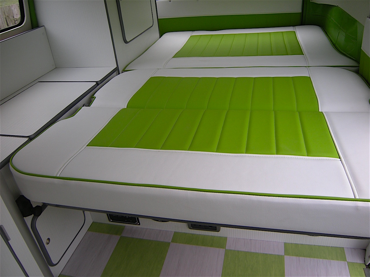 Split Screen Interior Vw Camper Interiors