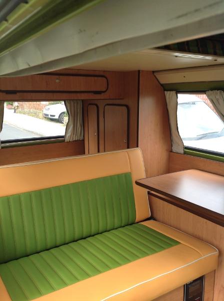 vw t2 interior
