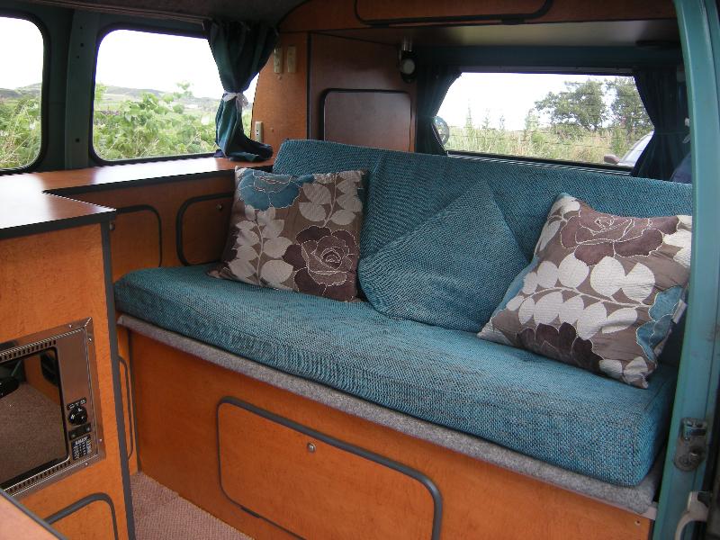 T2 camper conversion