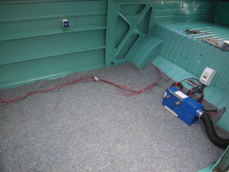VW camper t2 interior