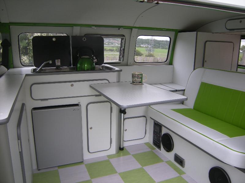 vw split screen interiors