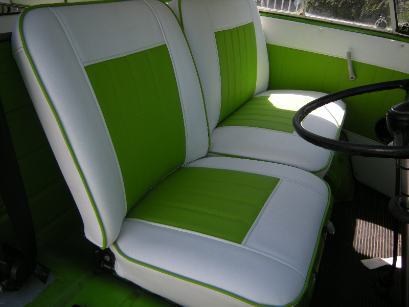 vw split screen interiors