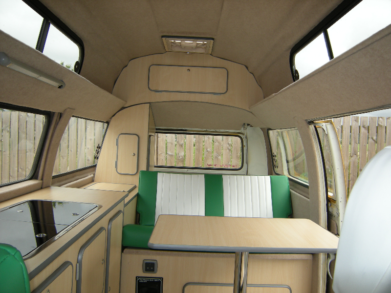 bay  camper interiors