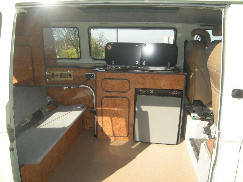 Volkswagen T25 Camper Interior