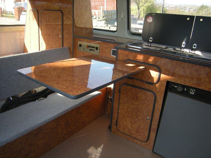 Volkswagen T25 Camper Interiors