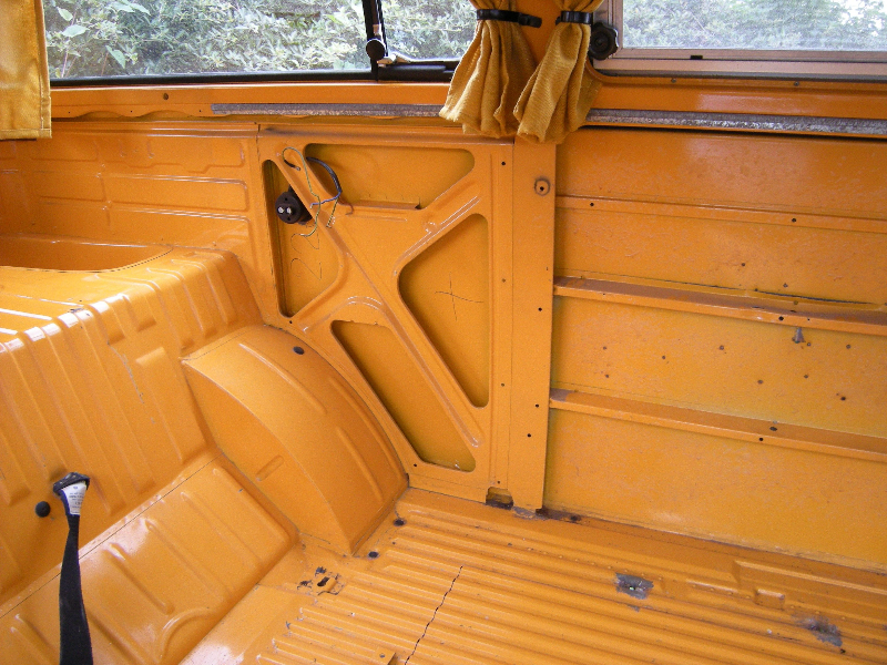 vw westfalia interior