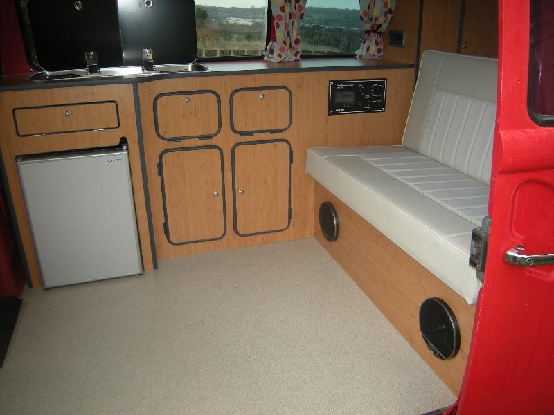 vw type 2 interior