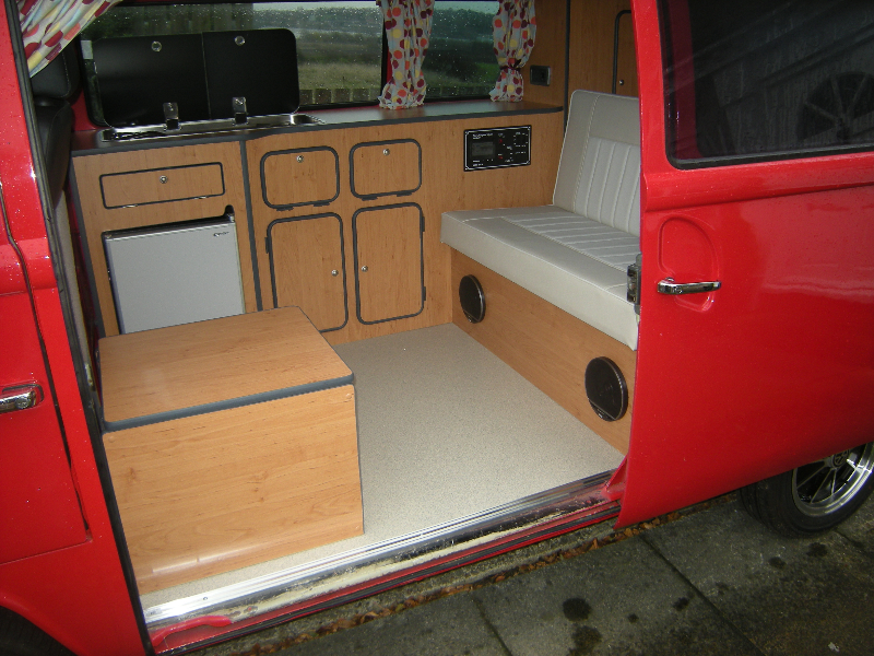vw type 2 interior