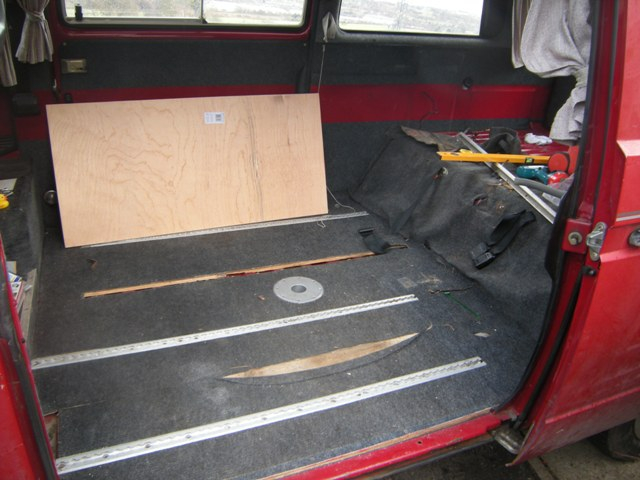 T25 Camper Interior