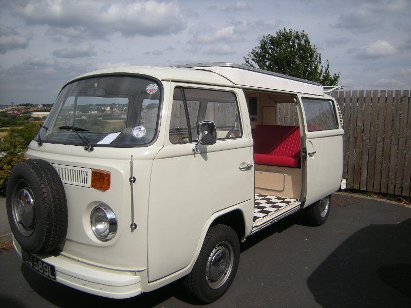 VW t2 devon interiors