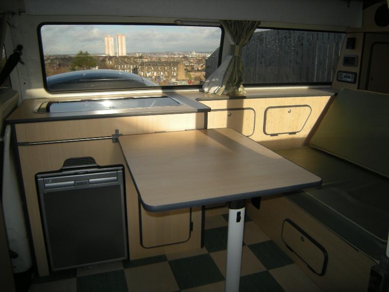 T2 VW camper conversion