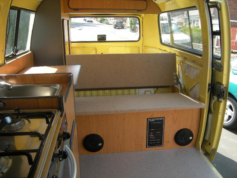 T2 VW camper interiors