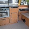 VW bay window interiors