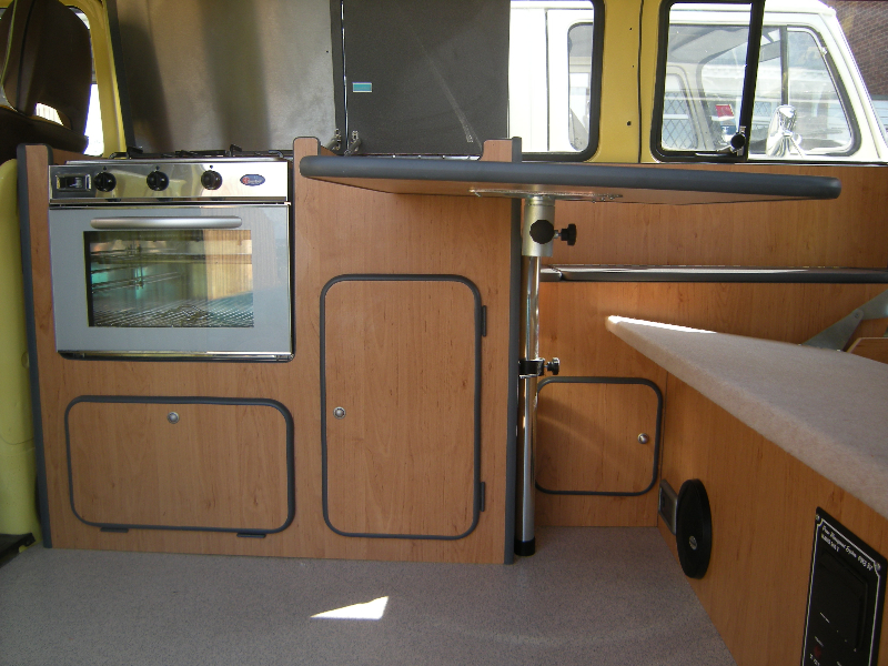 VW camper bay window interiors