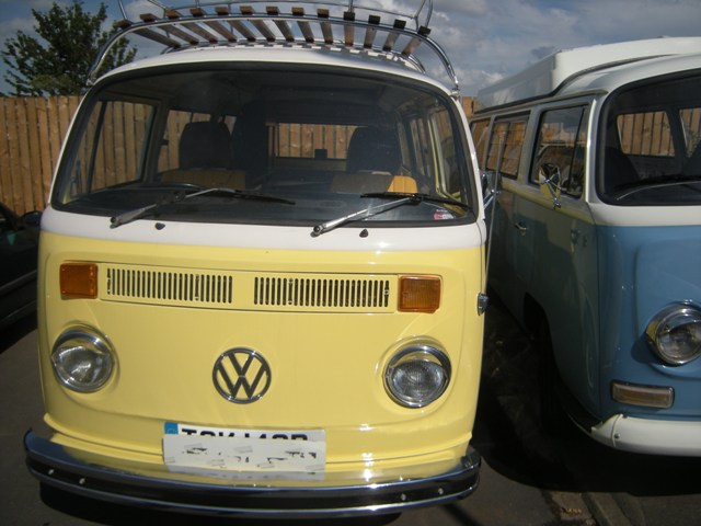 VW bay window interior