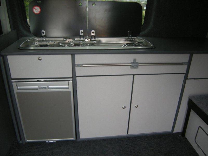 T5 VW camper interior
