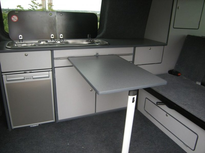 T5 VW camper van interiors