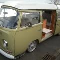 VW bay window interior