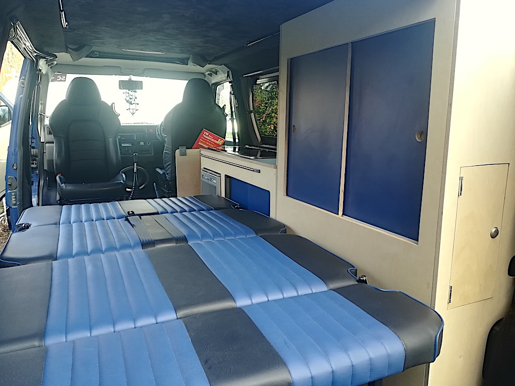VW T4 Interior Sliding Doors