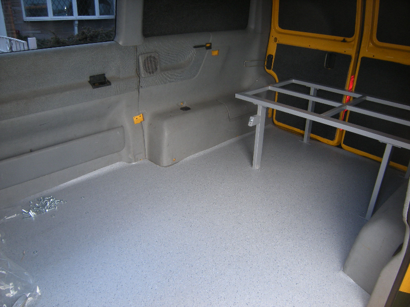 Volkswagen T4 interiors