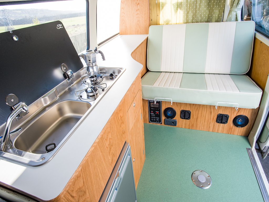 Besoke VW T2 Interior