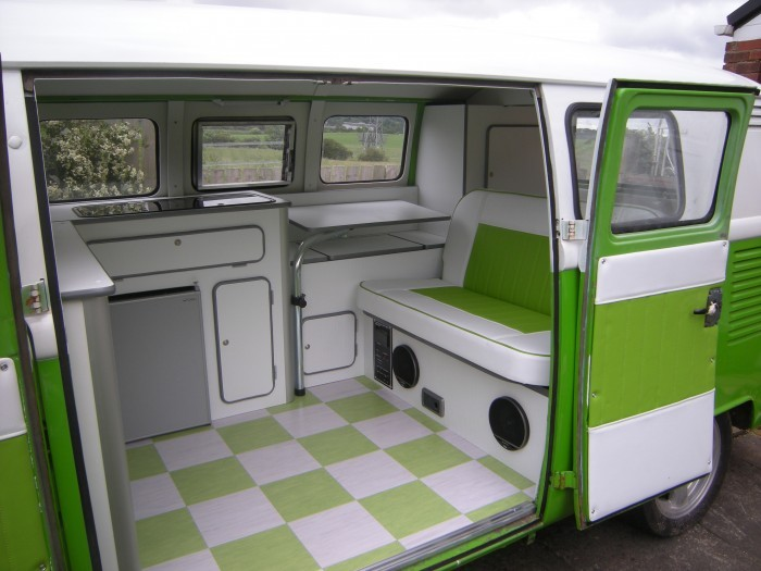 Westfalia Style Split Screen Interior