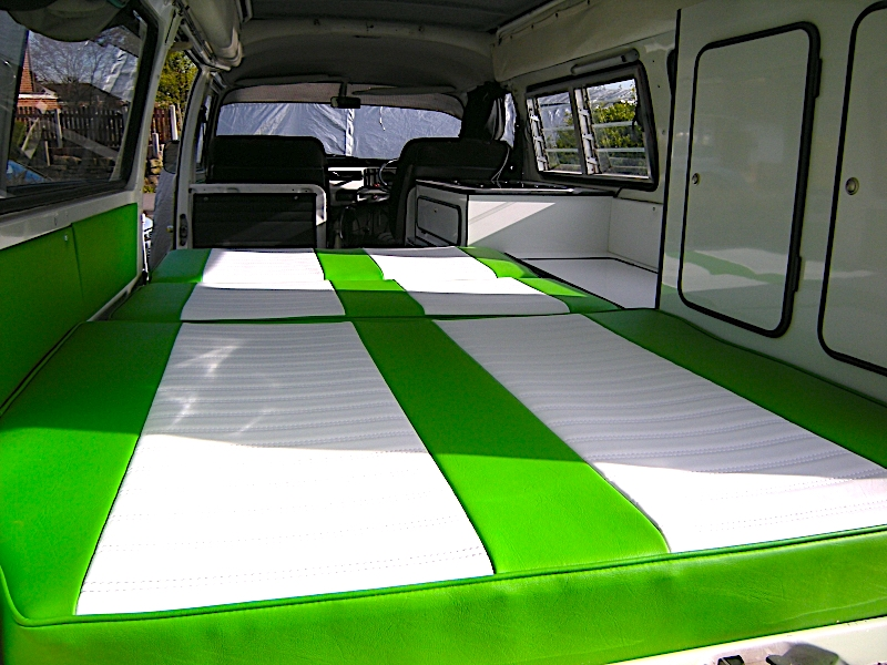 VW T2 Bed