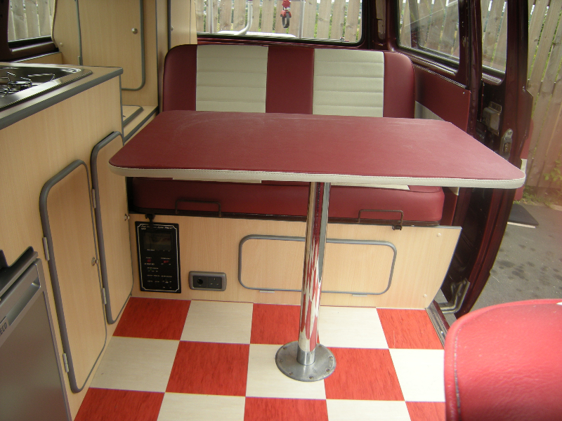 custom vw bus interior