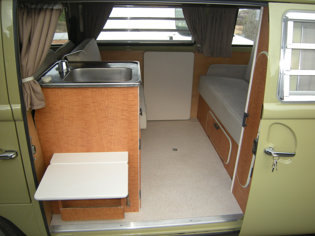 kitchen pod unit vw