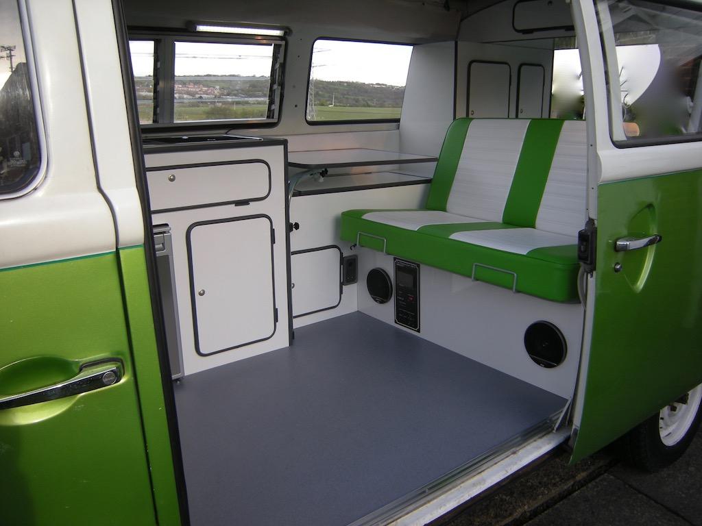 VW bus light weight furniture set
