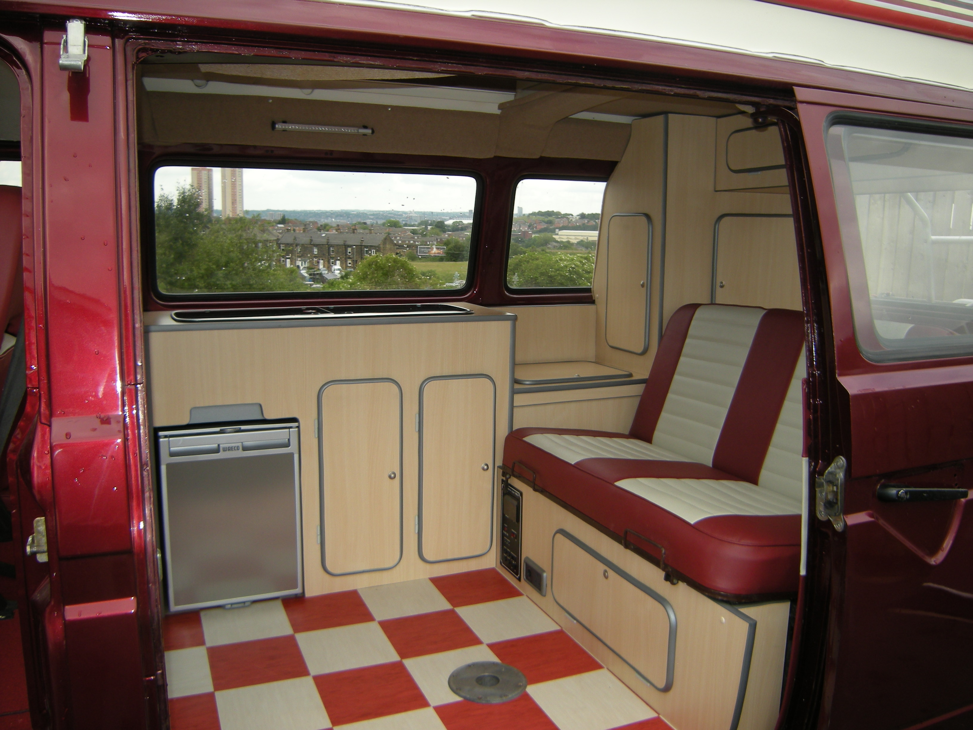 View Larger Image VW Bus Interior