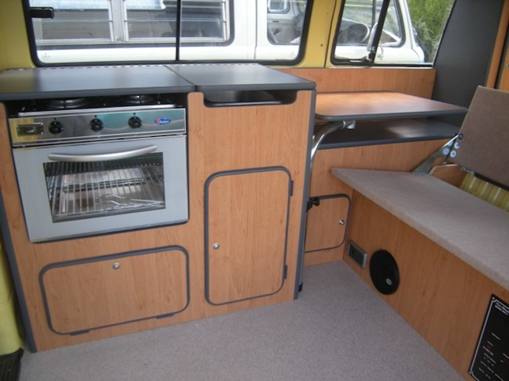 Cooker in vw t2