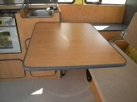 Swing out table vw
