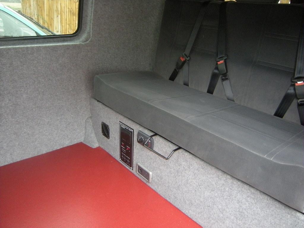 VW T5 Crash tested Bed