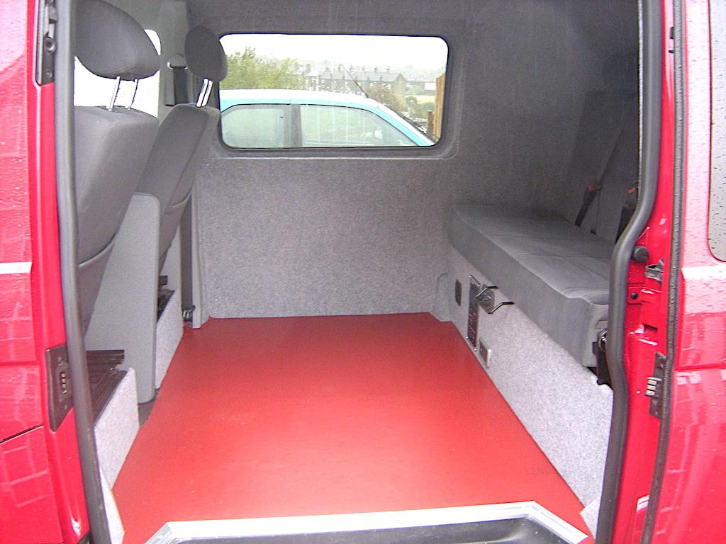 VW Vinal floor