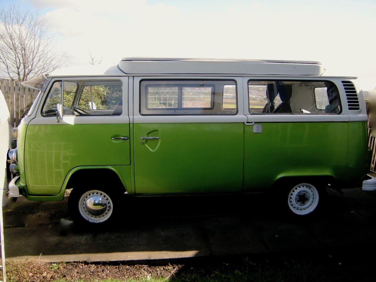 Volkswagen bus interior
