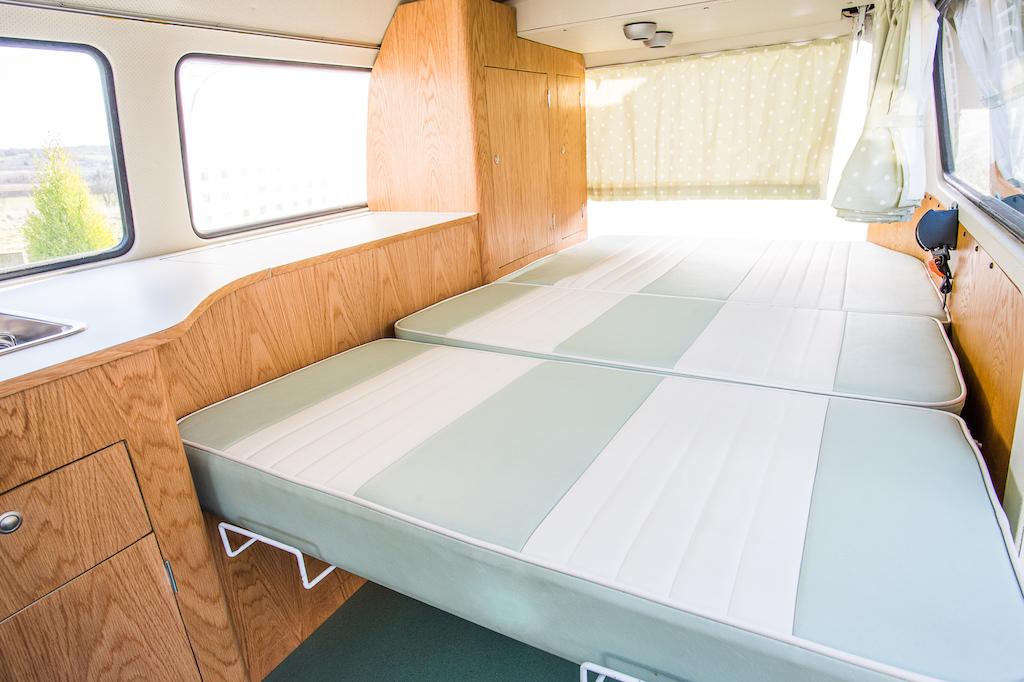 Camper Van Interiors Rock And Roll Bed Vw Camper Interiors