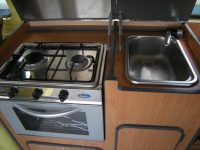 cooker and sink VW T2