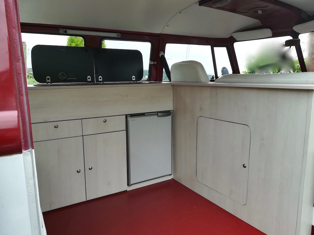 vw camper bulk head unit