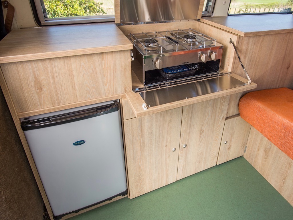 camper van cooking unit